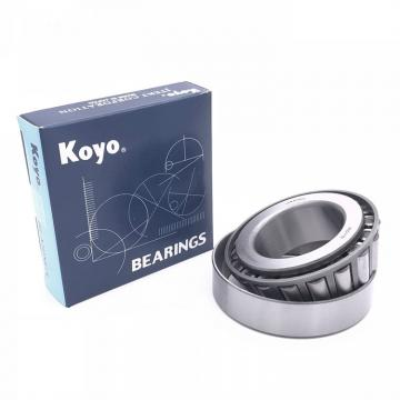 4 mm x 8 mm x 3 mm  KOYO WML4008ZZ deep groove ball bearings
